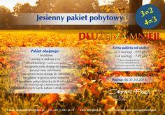 Jesienny pakiet pobytowy w Crown Piast Hotel & Park!  #crownpiasthotelpark