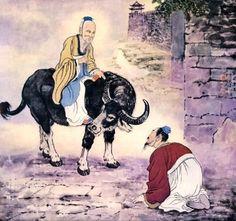 Tao Te Ching ( Tao=Soul, Te=is the, Ching=way) by Lao Tzu ( Verses - Modern Age Spirituality Chinese Painting, Chinese Art, Buffalo Animal, Southeast Asian Arts, Tao Te Ching, Post Impressionism, Animal Paintings, Oil Paintings, Western Art