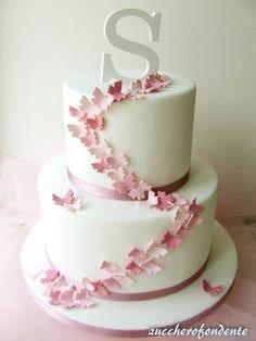 Bowl cake with blackberries and faisselle - HQ Recipes 18th Birthday Cake, Sweet 16 Birthday, Wedding Cake Prices, Pistachio Cake, Star Cakes, Bowl Cake, Butterfly Cakes, Engagement Cakes, Wedding Cupcakes