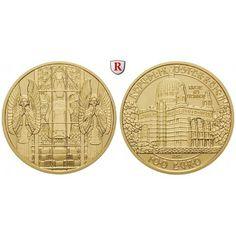 Österreich, 2. Republik, 100 Euro 2005, 16,0 g fein, PP: 2. Republik seit 1945. 100 Euro 16,0 g fein, 2005. Wiener Jugendstil -… #coins