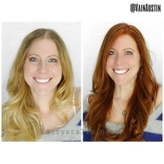 Haircut and color by Crystal #beforeandafter #behindthechair #btconeshot #btconeshot_color #btconeshot_thelook #btconeshot_hairpaint #btconeshot_transformation #wellahair #wella #wellacolor #hair #haircut #haircolor #hairdresser #austin #austinhair #austinhairstylist #btcpics #beautiful #hotonbeauty #modernsalon #kevinmurphy #longlayers #redhair #redhead @hotonbeauty @wellahair @wellaeducation @love_kevin_murphy @crystalvainatx @modernsalon @behindthechair_com
