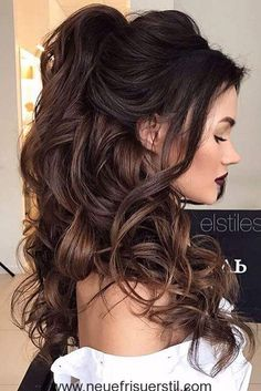 Ball frisuren fur lockiges haar