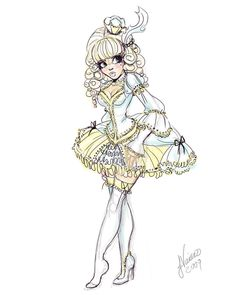 Lolita Cinderella Sketch by ~NoFlutter on deviantART