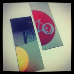 In my #coworking days I order Moo Cards with bicycles on them! :-)