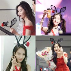 160628 [SNSD] Seohyun. Hyunnie before and after her birthday party. She is such a cutie!!!