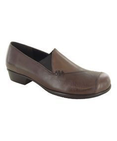 Brown Cheryl Leather Loafer