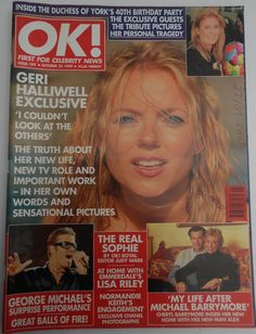 OK magazine N. 184 - October 1999 - FERGIE