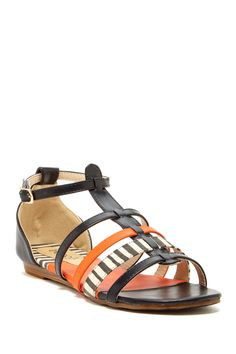 Valentony Gladiator Sandal by Bucco on @nordstrom_rack if halloween was a sandal, here it is