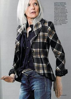 FASHION OVER FIFTY | MATURE WOMEN STYLE