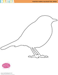 Bird Template for Craft
