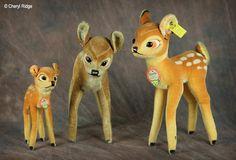 Image detail for -... Walt Disneys Bambi and friends  vintage Steiff Walt Disney Bambi
