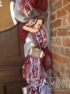 (As we say at Texas A&M University) My family is getting ready to drive from Oklahoma City to College Station, Texas this weeken. Aggie Game, Aggie Football, Football Banquet, College Fun, College Station, Texas Diy, 40th Bday Ideas, Mesh Wreaths, Party Time