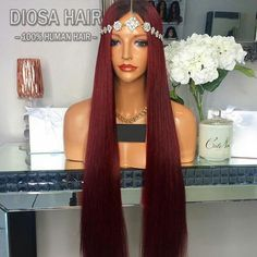 Long Straight Brazilian Ombre Lace Front Wigs For Black Women 100 Unprocessed Glueless Full Lace Human Hair Wig Trendy Hairstyles, Weave Hairstyles, Straight Hairstyles, Human Hair Lace Wigs, Human Hair Wigs, Hair Colors For Blue Eyes, Hair Wigs For Men, Synthetic Lace Front Wigs, Synthetic Hair