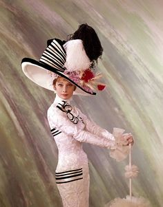 Audrey Hepburn... Ascot Opening day scene from My Fair Lady... sheer perfection of beauty, style and elegance...