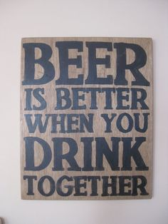 True story... perfect for any home bar!