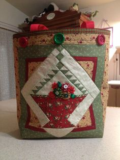 Christmas tote -front