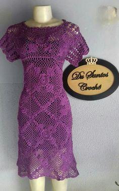 Crochet Dresses, Crochet Clothes, Irish Crochet, Crochet Lace, Blouse Dress, Knit Dress, Crochet Designs, Crochet Patterns, Summer Patterns