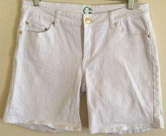 C Wonder by Chris Burch QVC HSN Walking Bermuda Cotton Shorts Size 29 Tory Burch | eBay