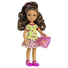 -BARBIE® CHELSEA®/Friends Tamika Doll,$7