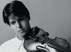 Joshua Bell and a 3.5 million dollar violin. Because he's just that good.