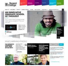 Regent College - Responsive design http://www.regent-college.edu/