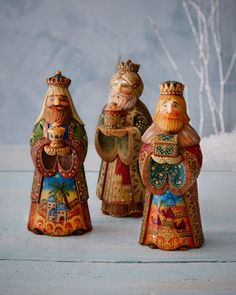 Nativity King Set by G. DEBREKHT at Neiman Marcus.