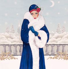 Art Deco Lady - 2. Discussion on LiveInternet - Russian Service Online diary