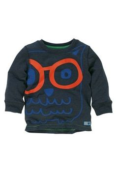 Buy Long Sleeve Owl Top (3mths-6yrs) from the Next UK online shop