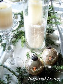 Inspired Living: Christmas Tablescape