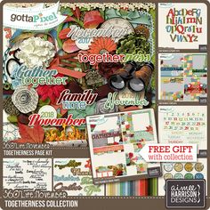 360°Life November: Togetherness Collection :: Gotta Pixel Digital Scrapbook Store by Aimee Harrison
