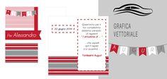 Grafica e realizzazione biglietto di auguri  www.ateliericreativo.it