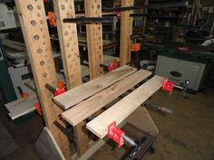 My Custom Clamp/Glue up station - by todd628 @ LumberJocks.com ~ woodworking community