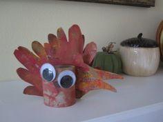 Handprint Turkey Craft for Toddlers