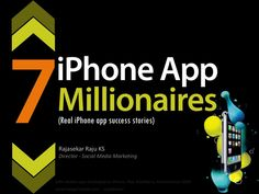 7 iPhone App Millionaires and Their Real Stories