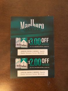 Cigarette Coupons Free Printable, Free Printable Coupons, Free Coupons, American Spirit Cigarettes, Marlboro Coupons, Newport Cigarettes, Marlboro Cigarette, Cheeseburger Soup, Digital Coupons