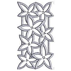 Broderie Richelieu - Floral 7 $20.00