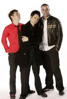 Dominic Howard, Matt Bellamy and Chris Wolstenholme #Muse