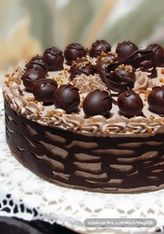 Ferrero Rocher Chocolate Cake Shared by Career Path Design Rocher Chocolate, Chocolate Cake, Ferrero Rocher, Chocolate Heaven, Gourmet Recipes, Cake Recipes, Salty Cake, Weird Food, Cupcakes