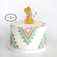 Boho Chic Cake by Cake Bash Studio & Bakery, Sherman Oaks