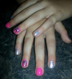 Cute little girl nails. Nails By Monica