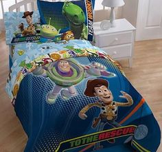 Disney, Toy Story 3 Full-Sheet Set. Bedding @ http://www.storenvy.com/stores/368788-immortal-mastermind