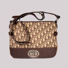 1aa9d90c83197 Christian Dior Womens Brown Vintrav Messenger Bag (CD1521) Messenger Bag