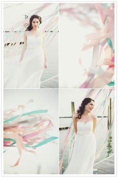 Dress: Calla by Love, Yu  Fashion & Styling: Everthine Bridal Boutique  Photography: Michelle Gardella  Florals: Petal Floral Design  Invites: Posh Paperie  Venue: Pine Orchard Club