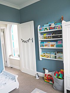 Arlos Eclectic Toddler Boy Bedroom - The Spirited Puddle Jumper