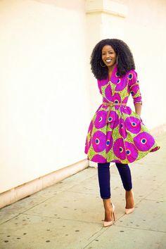 Such a stunning ankara dress. See my Ankara look at http://lapassionvoutee.blogspot.com/2015/01/ankara-maxi-dress-casual-flats.html