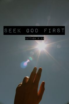 When you put God first, when you obey His commands, you open the door for His favor—you have the advantage for succes...