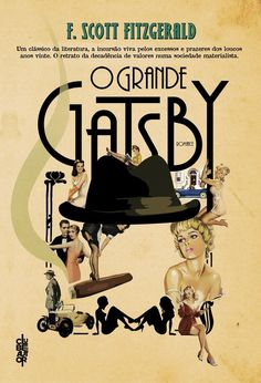"""""""O grande Gatsby"""". F Scott Fitzgerald, Romance, Coffee And Books, Reading Lists, Books To Read, Cinema, Baseball Cards, My Favorite Things, Movie Posters"""