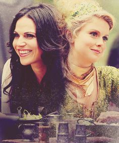 Once Upon a Time | Regina (Evil Queen) and Tinkerbell