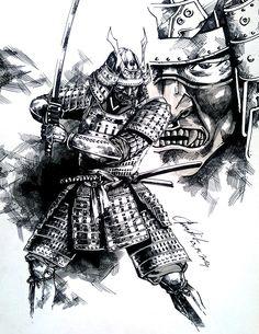 samurai by dikeruan.deviantart.com on @DeviantArt
