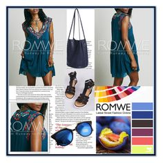 """""""ROMWE 1"""" by damira-dlxv ❤ liked on Polyvore featuring moda e Seed Design"""